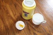 Thermos Bottle,1987 Walt Disney Company.Roger Rabbit,yellow color