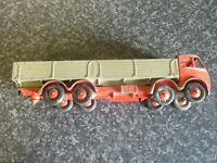 VINTAGE DINKY SUPERTOYS No.50 1st TYPE FODEN DIESEL 8 WHEEL WAGON RED/FAWN VGC