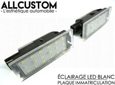 LED SMD LICENSE PLATE LIGHT WHITE XENON BULBS POWERFUL for RENAULT CLIO 4 IV 12-