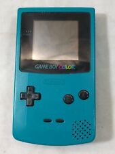 Nintendo GAME BOY Color Console Teal CGB-001 Gameboy Tested