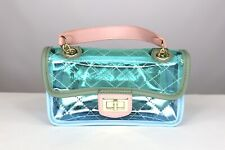 Plastic Clear Crossbody Small Bag