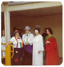 Square Vintage 80s PHOTO Women In Halloween Costumes