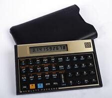 Vintage Hewlett Packard HP12C Financial Calculator w/ Case