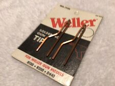 Weller 7135 Soldering Gun Tips 2 Made In Usa Copper