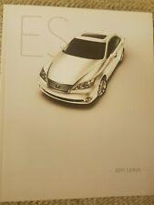 2011 Lexus Es brochure