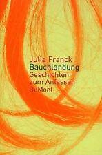 Bauchlandung von Franck, Julia   Buch   Zustand gut