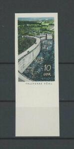 DDR PH 1401 TALSPERREN 1968 PHASENDRUCK 4. PHASE RAND!! Mi 150.- PROOF!! m2050