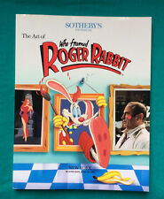 SOTHEBY's catalogue:  New York 1989 Disney Art of Who Framed Roger Rabbit