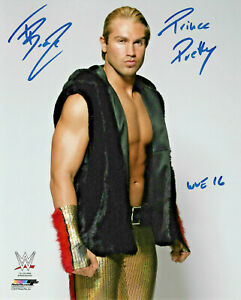 WWE TYLER BREEZE HAND SIGNED 8X10 PHOTO FILE PHOTO WITH PROOF AND COA 1