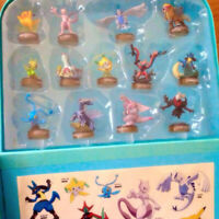 Pokemon Figure Museum Seven Eleven Bottle Cap Figure Japan Kaiyodo Complete