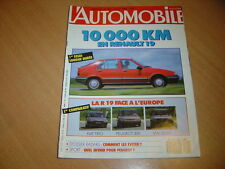 L'automobile N°506 R21 Turbo Superproduction.Renault 19.Golf 75 S
