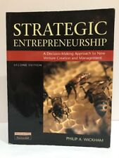 Strategic Entrepreneurship, Wickham, Philip A., Used; Good Book