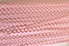 "JAY COMPANY #133077 RICK RACK- COTTON--3/8"" WIDE--PINK--5 YARD INCREMENTS"