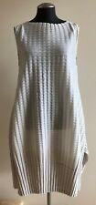 NWOT PLEATS PLEASE by ISSEY MIYAKE Light Beige Sleeveless Dress, Size 3