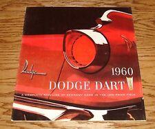 Original 1960 Dodge Dart Deluxe Sales Brochure 60 Phoenix Pioneer Seneca