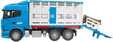 Bruder 03549 Scania R-Series Cattle Transportation Truck 1 Cattle Cow Vehicle