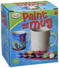 Mug/Cup ~ Ceramic Tea/Coffee/Beverage Mug ~ PAINT YOUR OWN MUG ~ Art/Craft/Hobby