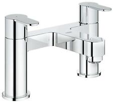 Grohe Get 2 Hole Twin Lever Chrome Bath Filler Mixer Taps 25134000
