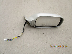 NEW RIGHT SIDE POWER DOOR MIRROR BLACK FITS 2001-2003 TOYOTA SOLARA TO1321194