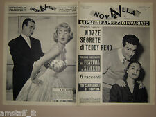 Novella=1957/6=TEDDY RENO=MARTINE CAROL=ROMINA POWER=AUDREY HEPBURN=ALLASIO M.