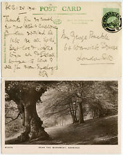 GB HERTFORDSHIRE 1910 CHRISTMAS DAY POSTMARK BERKHAMSTED ASHRIDGE PPC