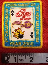 WIBC WOMENS BOWLING TOURNEMENT OF CHAMPIONS WIBC PATCH YEAR 2000 RENO NEVADA