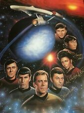 Star Trek First Family Lithograph (SIGNED BY THE WHOLE CAST)