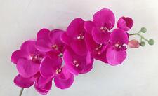 Orchideenzweig 107 cm pink Seidenblumen Kunstblumen künstliche Orchidee wie echt