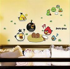 Angry Birds wall sticker child's room decoration, nursery wall art mural XXL