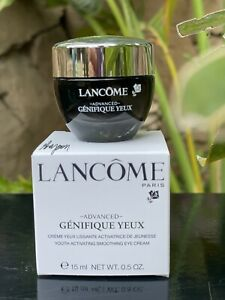 NIB Lancome Advanced Genifique Yeux Youth Activating Eye Cream .5oz/15ml