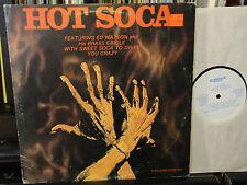 HOT SOCA  ED WATSON & His BRASS CIRCLE 1979 BARBADOS PRESS