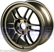 "ENKEI RPF1 Wheels 17x8"" 5x100 45mm Offset Bronze WRX BRZ FR-S Rim 379-780-8045BP"