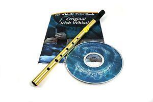 QUALITY FEADOG TIN WHISTLE TUTOR BOOK & ACCOMPANYING CD