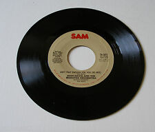John Davis 1978 SAM 45rpm Ain't That Enough For You b/w Disco Fever