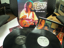 TOMMY BOLIN - Whirlwind LP 2 Record Set (James Gang Deep Purple Guitarist)