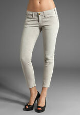 Current/Elliott The Crop Skinny in Natural Python Snakeskin Stretch Jeans 29