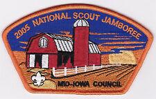 JSP - MID-IOWA COUNCIL - 2005 NAT. JAMBOREE - ORG BORDER - SCOUT STUFF BACK - OS