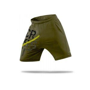 Reebok CrossFIt Men's Olive PlayDry Perf. San Bernada ii Training Knit Shorts