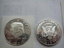 New. Rare! Donald Trump 2021 SILVER Plated Collectible Eagle Coin  i