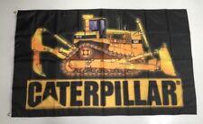 CAT Caterpillar Style 3 Banner Flag - Diesel Power Tools Excavator Track Loader