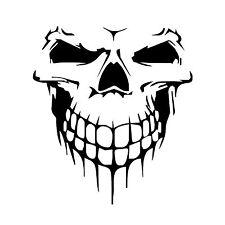 "Hood Decal Vinyl Sticker Skull Car Auto Tailgate Window 16"" Reflective SUV Truck"