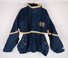 Vintage Starter Michigan Wolverines Jacket 90's Pullover XXL NCAA Football
