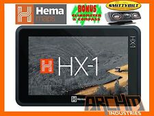 HEMA HX-1 NAVIGATOR OFFROAD AND ONROAD GPS UNIT -  FREE 4x4 INCLINOMETER - HX1