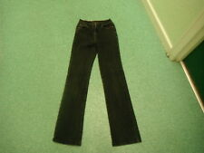 "Per Una Roma Stretch Leg Jeans Size 8L Leg 32"" Black Faded Ladies Jeans"