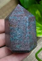 ONE (1) RUBY in KYANITE Chunky Abstract Wand Crystal Reiki Charged *Read Below*