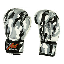 Urban Camouflage Boxing Gloves Sparring Training Punching Mitts Kick MMA