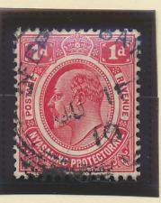 Nyasaland Protectorate Stamp Scott #3, Used