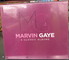 Marvin Gaye ‎– 5 Classic Albums CD Box Set