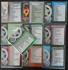 KARAOKE CDG  LEGENDS SERIES  10 TOP CDG DISCS    155 TOP TRACKS