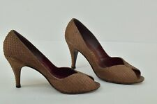 Vintage Stuart Weitzman for Mr. Seumour Spain Snakeskin Heel Size 7